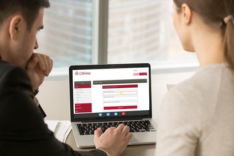 Jornadas de formación online CAFirma